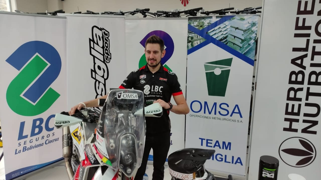 Daniel Nosiglia correrá el Dakar 2022 como piloto oficial