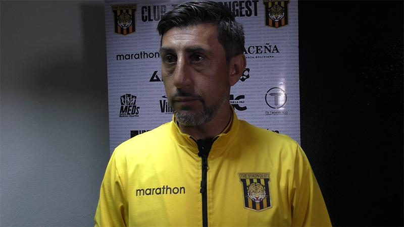 """Díaz, tras el empate: """"Vamos en franca mejoría"""""""